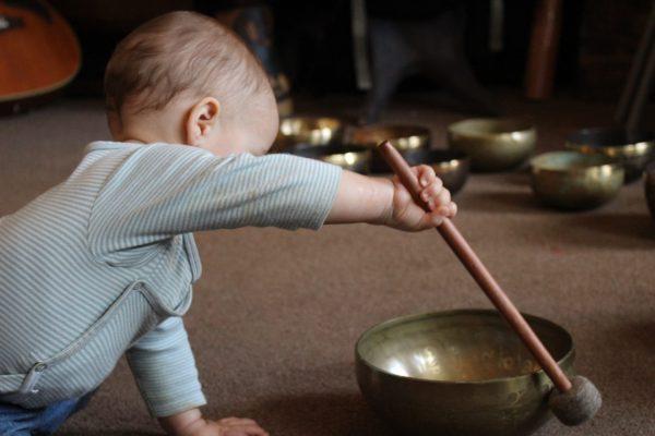 Baby Singing Bowl