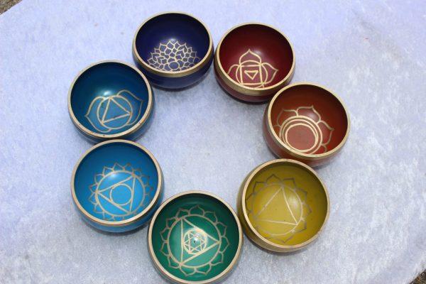 Chakra Singing Bowls